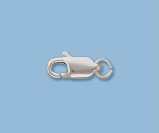 Picture of Sterling Silver Lobster w/ Ring 10x4mm (pack of 5)