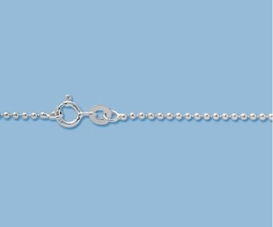 Picture of Sterling Silver Ball Chain 1.5mm 18 inch