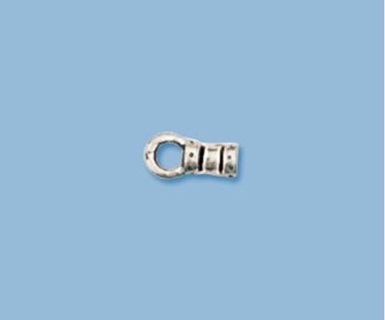 Picture of Sterling Silver Fancy End Cap 3mm(2 pack)