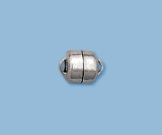 Picture of Sterling Silver Magnetic Clasp 6mm Button Shape