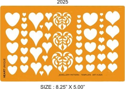 Picture of 2025- Unique Hearts