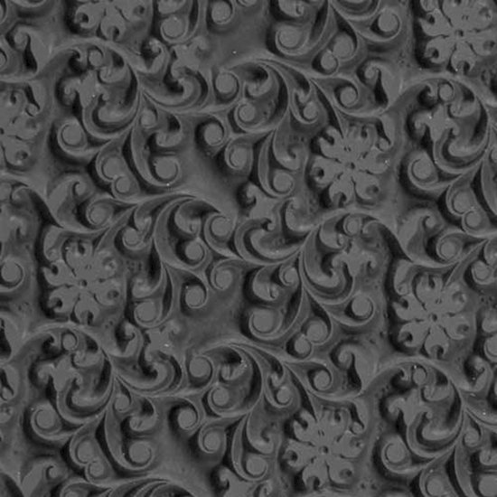 Picture of Texture Tile - Floral Curls