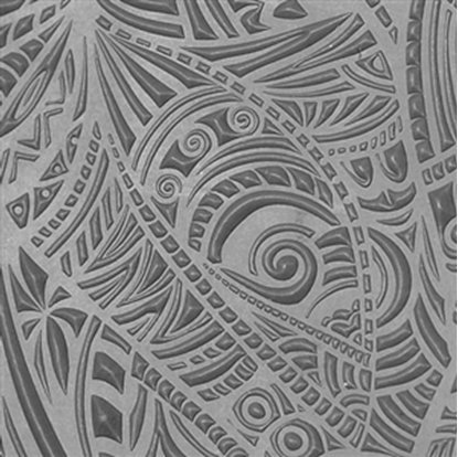 Picture of Texture Tile - Tribal Zentangle