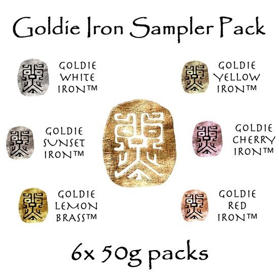 Picture of Goldie Iron Sampler(6) 300g
