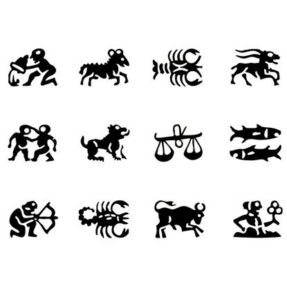 Picture of Astrology Symbol Stamps