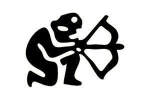 Picture of Astrology Symbol Stamps Sagittarius