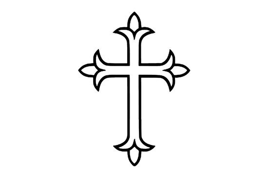 Picture of Cross Symbol Stamp