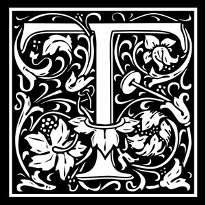 Picture of Monogram Stamp 20mm T
