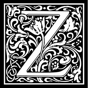 Picture of Monogram Stamp 20mm Z