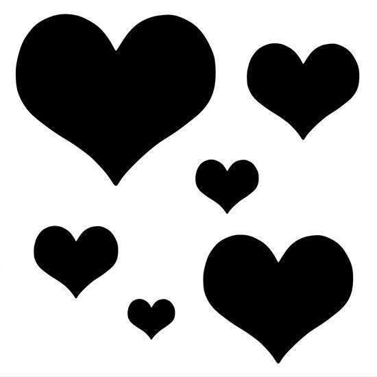 Picture of Lots Of Little Hearts-Symbol Stamp