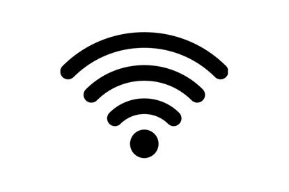 Picture of Wifi Symbol Stamp
