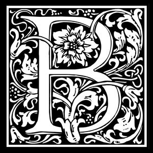 Picture of Monogram Stamp 14mm B