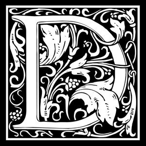 Picture of Monogram Stamp 14mm D