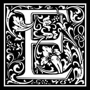 Picture of Monogram Stamp 14mm E