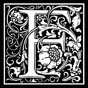 Picture of Monogram Stamp 14mm F