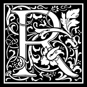 Picture of Monogram Stamp 14mm R