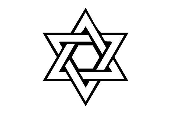 Picture of Star Of David Symbol Stamp