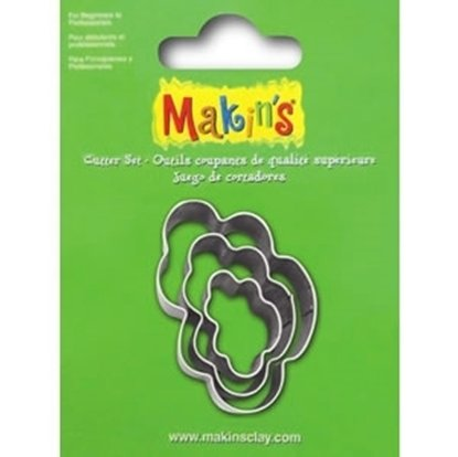 Picture of  Makins Clay Cutter 3/set- Cloud