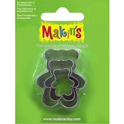 Picture of Makins Clay Cutter 3/set- Bear