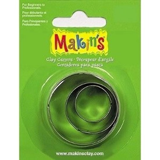 Picture of Makins Clay Cutter 3/ set- Round