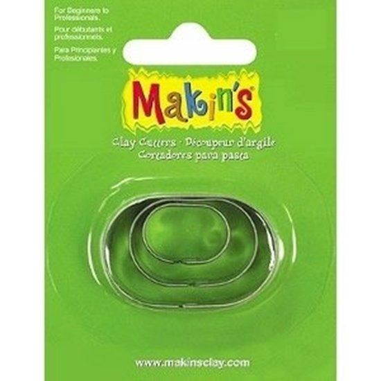 Picture of Makins Clay Cutter 3/set- Oval