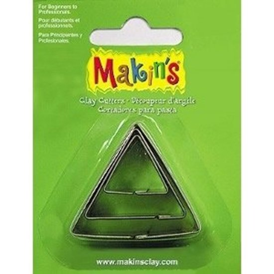 Picture of Makins Clay Cutter 3/set- Triangle