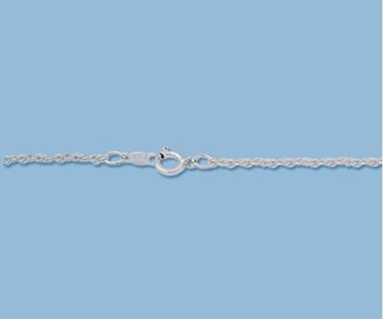 Picture of Sterling Silver Rope Chain 1.25mm