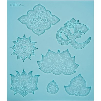 Picture of Texture Sheet - Om and Lotus