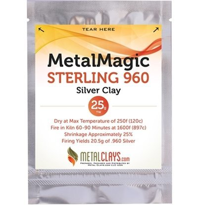 Picture of MetalMagic Sterling 960 Silver Clay 25g
