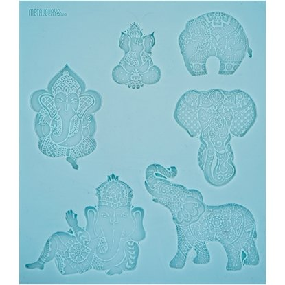 Picture of  Texture Sheet - Ganesh and Elephants