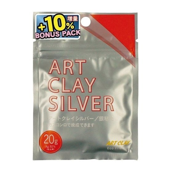 Art Clay Silver 20g + 2g Bonus Pack
