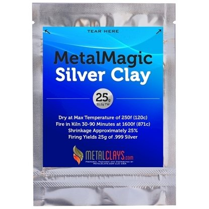 Metal Magic Silver Clay .999 25g