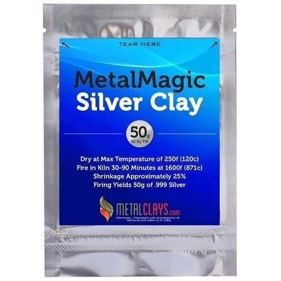 Metal Magic Silver Clay .999 50g
