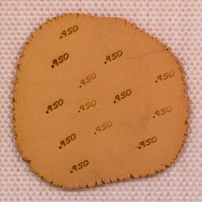 "Picture of Content Marking Stamp- "".950"""