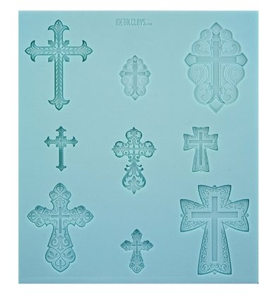 Picture of Texture Sheet -  Vintage Crosses