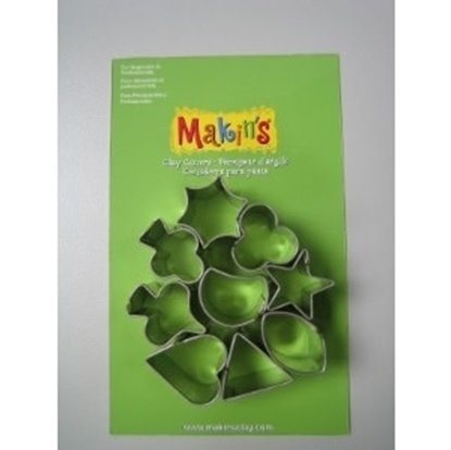 Picture of Makin's Clay Cutters Set- Small Geo