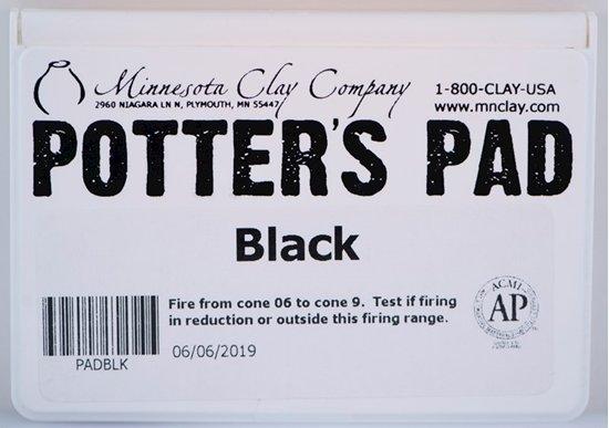 Potters Pad Black