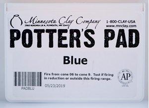 Potters Pad Blue