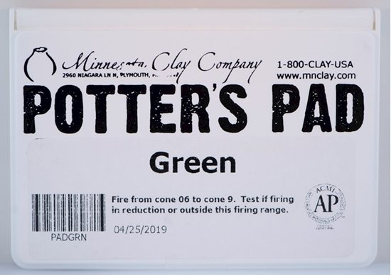 Potters Pad Green