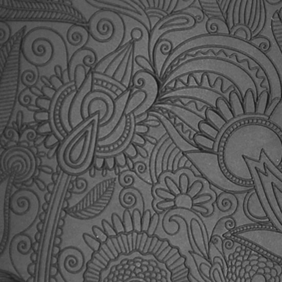 Picture of Rollable Texture Tile - Flower Doodle Fineline