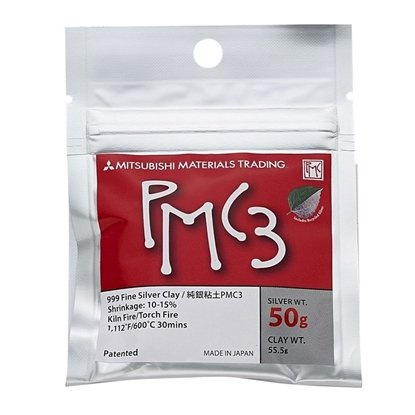 Picture of  PMC3 Silver Clay, 50g FREE Aqua Special
