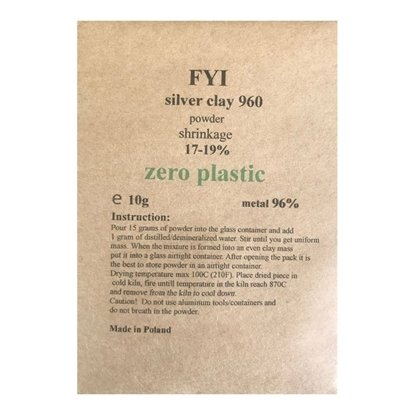 FYI .960 Silver Clay 10g ( powder)