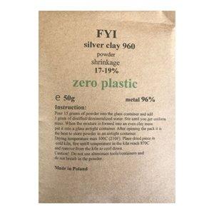 FYI .960 Silver Clay 50g ( powder)