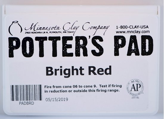 Potters Pad Red