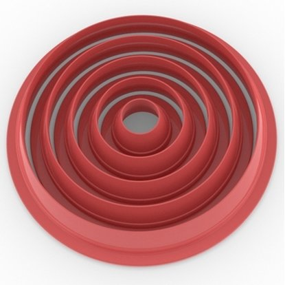 Clay Cutter Circle Set(5)