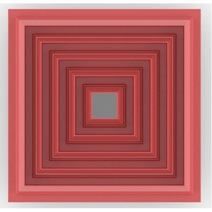 Clay Cutter Square Set(5)