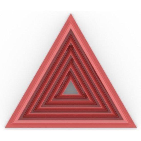 Triangle Cutter Square Set(5)