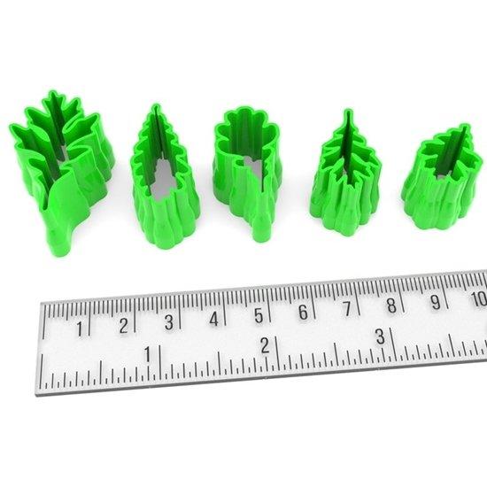 Oak Leaves Set(5) 001