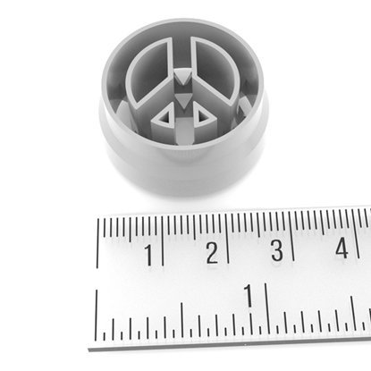 Picture of Clay Cutter Peace Sign